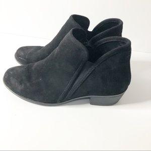 SO   Black suede booties